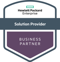 Hewlett Packard Enterprise Solutions Provider badge