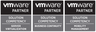VMware Partner logo - Soution Competency - Server Virtualization